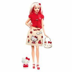 2017 Mattel-Sanrio HELLO KITTY Barbie Doll by Robert Best  adorable!!!