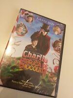 Dvd Charli y la fabrica de chocolate con johnny depp  ( precintado nuevo )