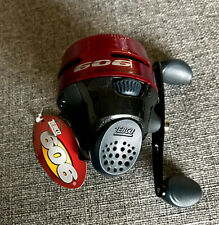 NEW - Zebco 606 Spincast Reel RED Pre-spooled w/ 20 Lb. Line