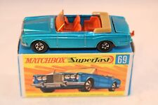 Matchbox  Superfast No 69 Rolls Royce Silver Shadow perfect mint in box