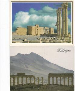 Syria - 4 postcards
