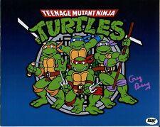Greg Berg Teenage Mutant Ninja Turtles Voice Rare Bam Box Signed Autograph Photo