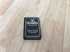 Rare Glenfiddich Translation English to French pocket dictionary.