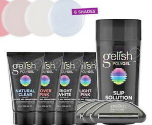 Gelish PolyGel Nail Enhancement Assorted Colors 2 oz..