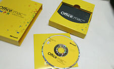 Never Opened Microsoft Office Home and Student 2011 1 Pack  MAC w/Product Key