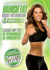 Jillian Michaels: Banish Fat Boost Metabolism * NEW DVD * cardio workout ripped