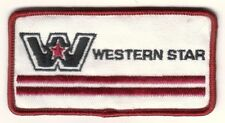 WESTERN STAR TRUCKS EMBROIDERED PATCH