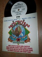 "NM 1981 CBS Busch Beer Kickin' Rock & Roll DEMO 7"" 45RPM w/pic slv"