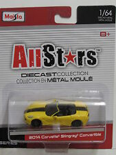 Maisto Allstars Serie 14 2014 Corvette Stingray Convertibile 1/64