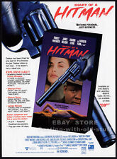 DIARY OF A HITMAN__Orig. 1992 Trade print AD promo__FOREST WHITAKER_SHARON STONE