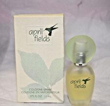 NIB April Fields cologne spray .375 oz