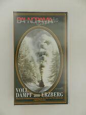 VHS Video Kassette Bahnorama Classic Volldampf am Erzberg Eisenbahn