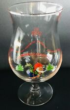 La Chouffe Brasserie d'Achouffe 25 cl bier beer glass RARE COLLECTOR ITEM