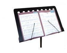 Hoja De con soporte atril Bookstand música con Base de Trípode Fording Bandmaster