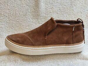 Tom's Ladies Comfort Boots Suede Brown/White UK 7 EUR 40 US 9