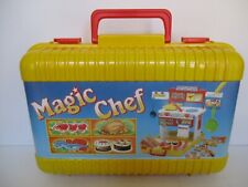 RARA VALIGETTA MAGIC CHEF + 14 ACCESSORI CRC ANNI '80