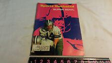 DALLAS COWBOYS SUPER BOWL VS BALT. COLTS SPORTS ILLUSTRATED JAN 18 1971 COVER