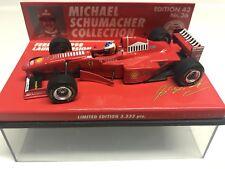 New listing Minichamps 1998 Michael Schumacher Ferrari Launch #3 1:43 MIB •