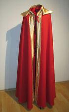 REY Capa - Disfraz para Carnaval, Kaiser Príncipe Gobernante Capa de rey