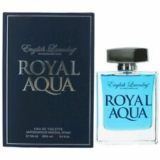 English Laundry Royal Aqua  3.4 oz EDT Spray for Men, FAST SHIPPING