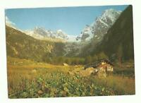 Swiss Radio International, Switzerland QSL card, Schiora mountain range1980