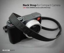 Lim's Genuine Leather Camera Neck Shoulder Strap for Leica SONY Fujifilm Black