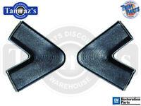 Trim Parts USA MADE 64-65 Chevelle SEDAN Package Shelf Tray End Cap Trim Pair