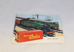 TRIANG  RAILWAYS CATALOGUE SIXTH  EDITION R.280 1960