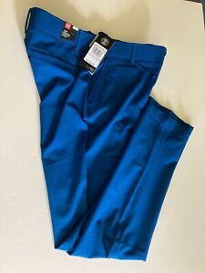 Under Armour Women's UA Links DWR Golf Pants 1272344 489 Moroccan Blue Sz 0 NWTs