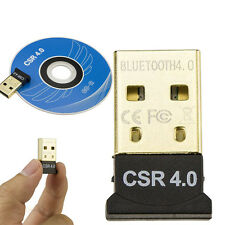 USB 2.0 Bluetooth 4.0 CSR4.0 Adapter Dongle for PC LAPTOP WIN XP VISTA 7 8 Mini