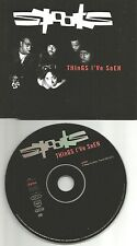 SPOOKS Things I've Seen w/ RARE FRENCH EDIT PROMO Radio DJ CD single USA Seller