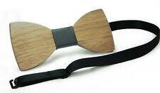 UK Men's Boy Wooden Butterfly Bow Tie Party Hollow out Wood Bowtie Handmade Ties