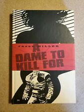 Frank Miller Sin City A Dame To Kill For Hardcover 1st Print Signed Autographed