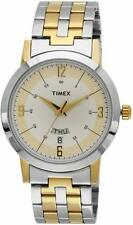Classics Analog Silver Dial Men's Watch - TW000T120 Silver & Gold Color