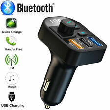 Bluetooth Wireless Car Kit FM Transmitter Radio MP3 Music Player With 3 USB Port