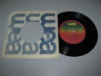 "Billy Field - Bad Habits You'll Call It Love 7"" Vinyl Single WEA Records 1981 VG"