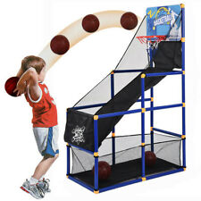Basketball Arcade Game Circle Shot Hoops 2 Balls Toy Indoor Outdoor Sports Game