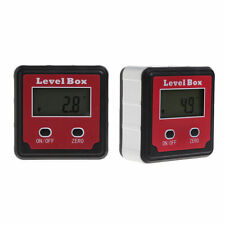 Digital Bevel Angle Finder Meter Protractor Box Gauge Inclinometer Tool Machine