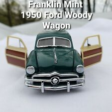 FRANKLIN MINT 1950 Ford Woody Wagon The Classic Cars of the 50s
