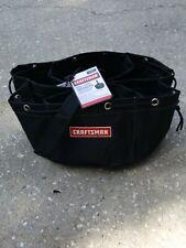 Craftsman Small Parts Organizer Tote Bag  6 inside pockets 34511