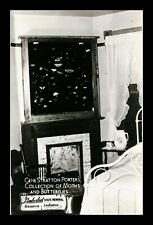 MOTH & BUTTERFLY COLLECTION LIMBERLOST STATE MEMORIAL GENEVA INDIANA US POSTCARD