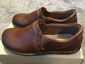 Clarks Janice Barrie Leather Shoes Women's Size 6 Brown NEW