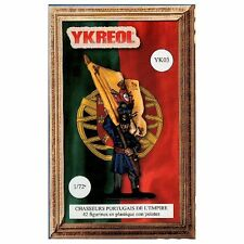 Ykreol 03 Napoleonic Portuguese Chasseurs 1/72 scale plastic model kit