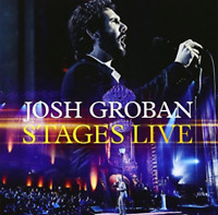 Josh Groban - Stages Live (NEW CD & DVD) Special Edition with extra content