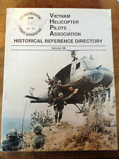 Vietnam Helicopter Pilots Association  Historical Reference Directory 2A