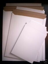25 ~ 7 x 9 Rigid Photo Postcard Mailers Envelopes White