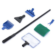 Aquarium Cleaner 5 In 1 Long Handle Clean Set Fish Net Fish Tank Cleaner Tool S1 Cleaning & Maintenance Pet Supplies