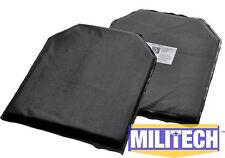 Ballistic Panel Bullet Proof Plate Backer Body Armor NIJ Lvl IIIA 3A 10x12 (2)