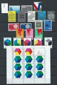 Niederlande Jahrgang 1970 bis 1979 Postfrisch nach NVPH Komplett jaargang