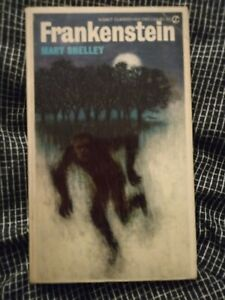 Frankenstein by Mary Shelley (Signet paperback, 1965) Harold Bloom Afterword